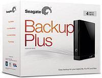 """Внешний HDD Накопитель 4000Gb Seagate Backup Plus Desktop STAC4000200, 3.5"""", USB3.0, Черный"""