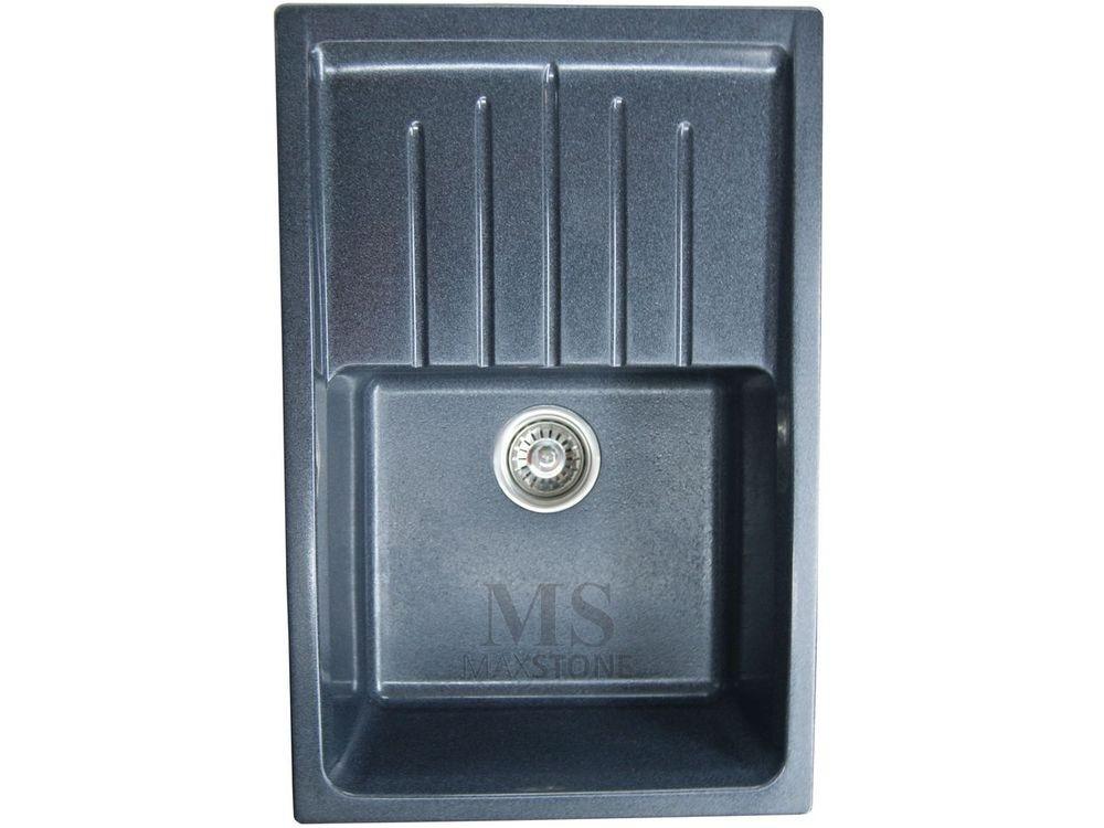 Мойка MS-07 Чёрный металлик