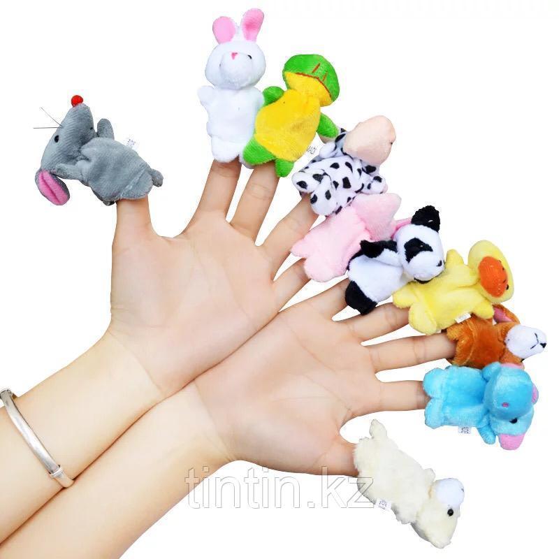 Пальчиковый театр - 10 животных