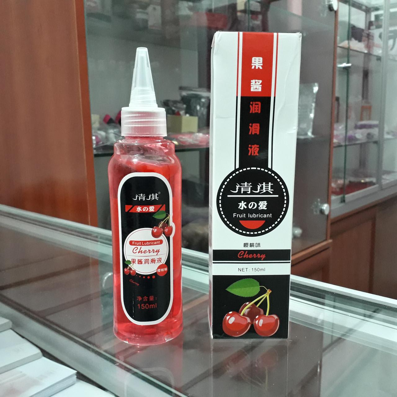 Оральная смазка с вкусом вишенки (150 ml.)