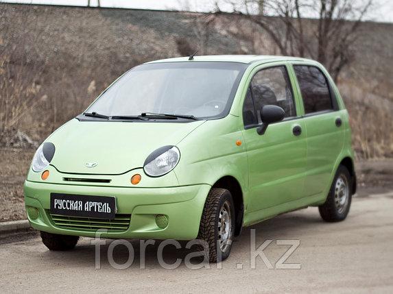 Накладки на передние фары (реснички) Daewoo Matiz 2000-, фото 2