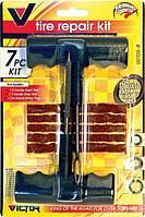 Набор для ремонта бескамерных шин, профессиональный Т-образный