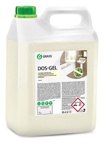 Дезинфицирующий чистящий гель Dos Gel, фото 2