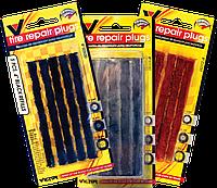 Жгуты для ремонта бескамерных шин (набор 5 шт), коричневые