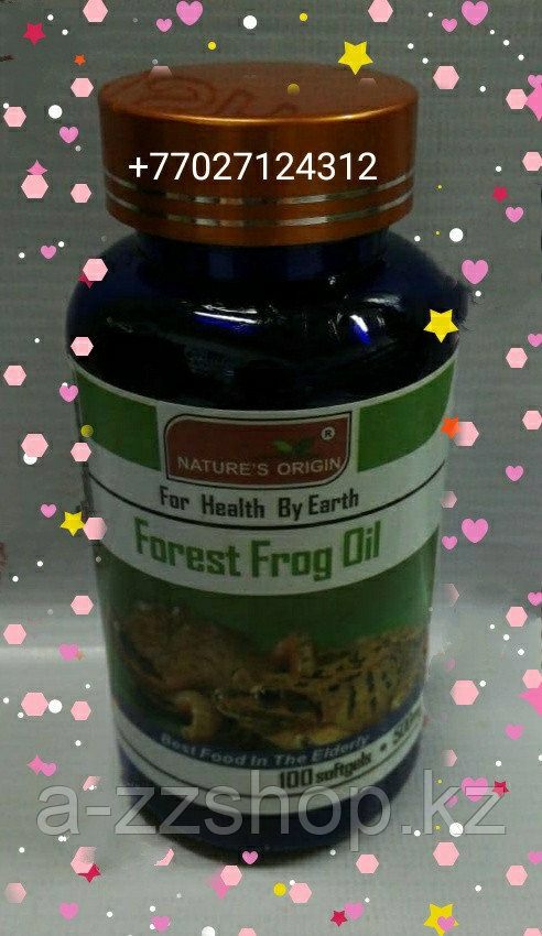 Капсулы Масло лесной лягушки - Forest Frog Oil