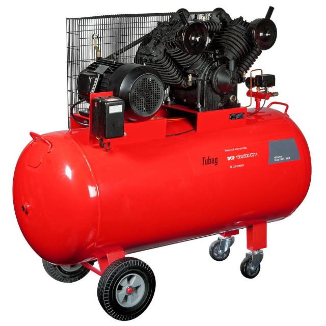 Компрессор ременной двухступенчатый DCF-1300/500 CT11 1300 л/мин 500 л 10 бар
