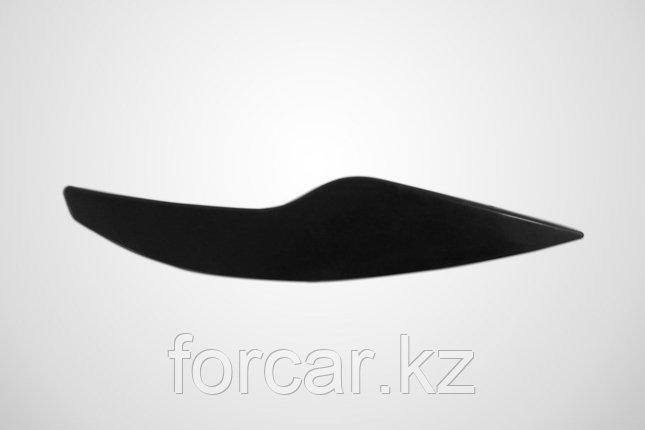 Накладки на передние фары (реснички) Ford Focus II 2008-2010, фото 2