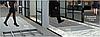 Придверные решетки Евро резина+щетка+скребок , м.кв., фото 4