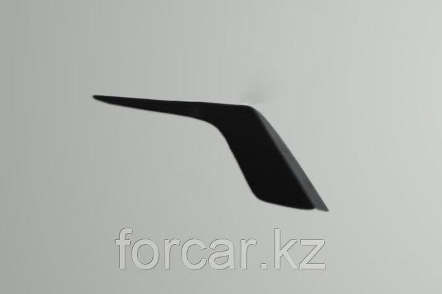 Накладки на передние фары (реснички) Honda Accord 2010-2012, фото 2