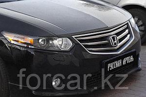 Накладки на передние фары (реснички) Honda Accord 2010-2012
