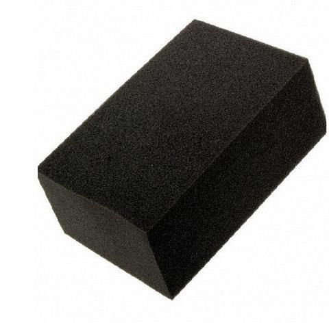 Губка черная химостойкая 70*50*25 мм, фото 2