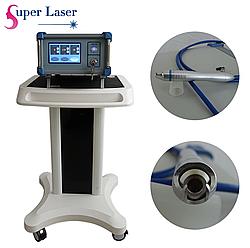 Портативный 532nm волоконный лазерный аппарат для сосудистого лечения, удаление сосудистых поражений +обучение