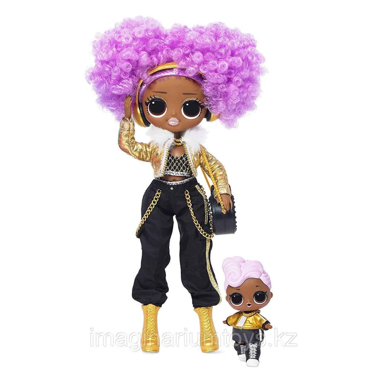 LOL OMG Зимнее Диско большая кукла ЛОЛ Диджей и ее сестренка Winter Disco