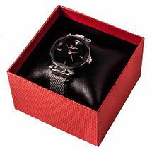 Часы женские водонепроницаемые Dior на магнитной застёжке [качественная реплика] (Серебро с блестками), фото 3
