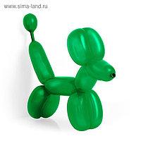 Шар для моделирования 260, пастель, набор 100 шт., цвет тёмно-зелёный