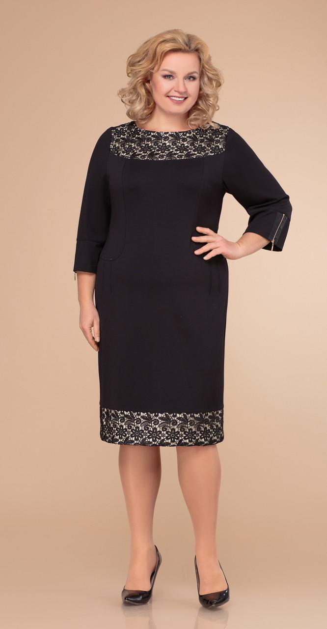 Платье Svetlana Style-1280, черный, 52
