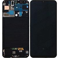 Дисплей Samsung Galaxy A50 2019 A505 в сборе, с сенсором цвет черный