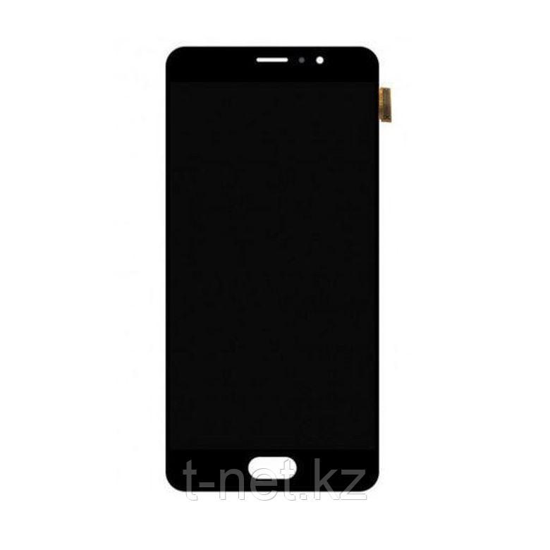 Дисплей Meizu Pro 6 Plus в сборе, с сенсором цвет черный