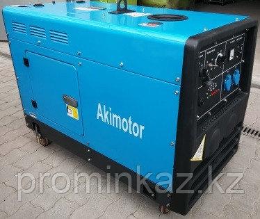 Генератор сварочный дизельный 300А, 8.5кВт, BDW300SE Akimotor