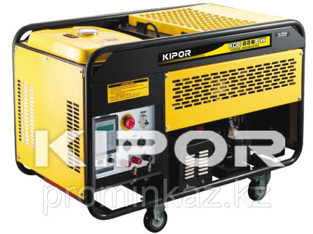 Сварочный генератор дизельный 280А, 5 кВт, KDE280EW KIPOR