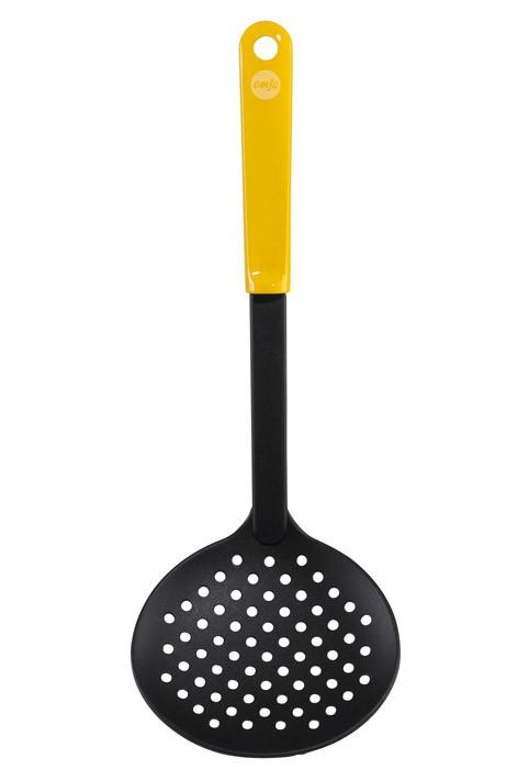 Шумовка EMSA 30 см. желтая, myCOLOURS 509314