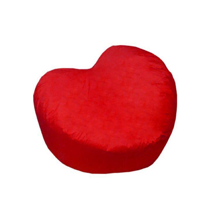 Кресло-мешок Сердце пуфик, ткань нейлон