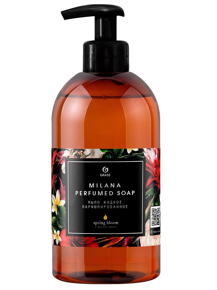 Парфюмированное жидкое мыло Milana Spring Bloom