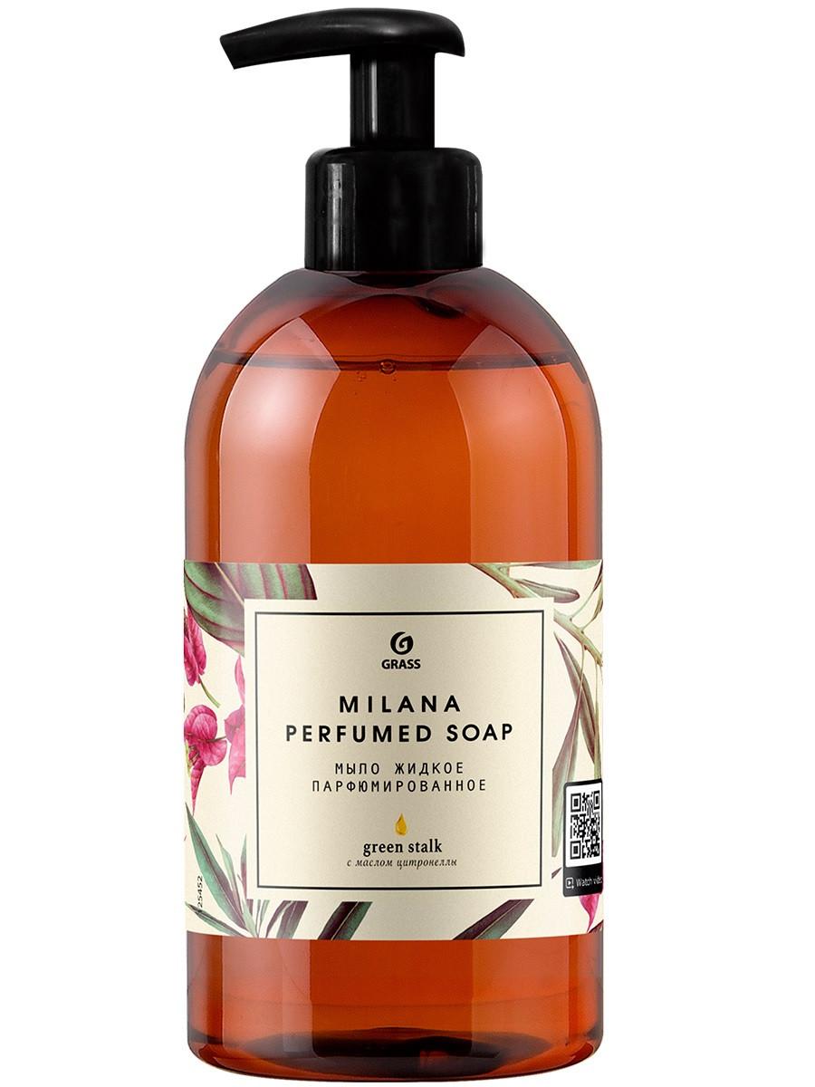 Парфюмированное жидкое мыло  Milana Green Stalk
