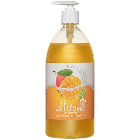Жидкое крем-мыло Milana  манго и лайм , фото 2