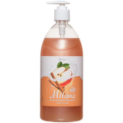 Жидкое крем-мыло Milana  яблоко и корица  , фото 2