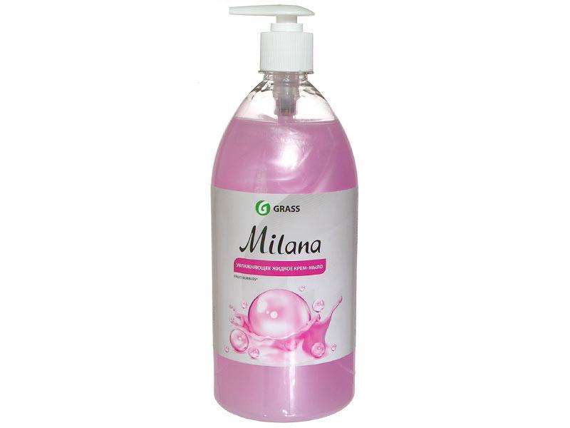 Жидкое крем-мыло Milana fruit bubbles с дозатором