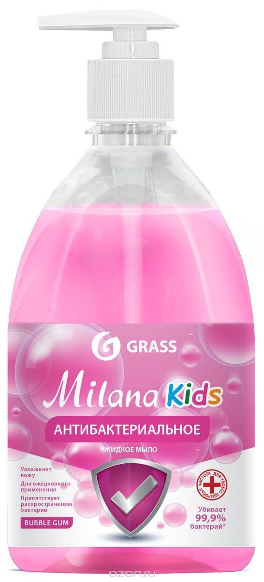 Жидкое мыло антибактериальное Milana Fruit bubbles