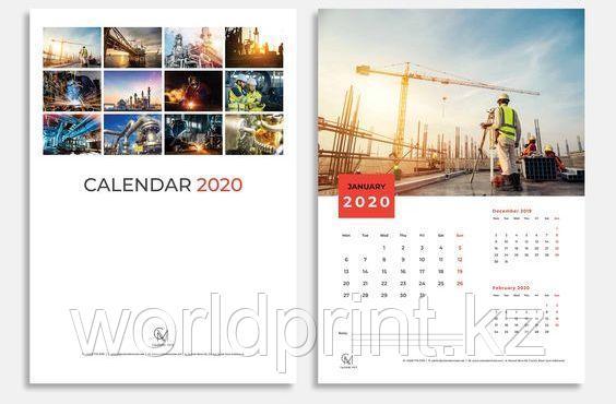Изготовление календаря в Нур-Султане