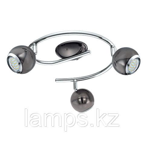 Светильник настенно-потолочный/GU10-LED-3x3W/ 'BIMEDA' , фото 2
