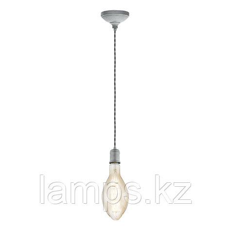 Светильник подвесной YORTH, HL  1 E27 SILBER-ANTIK  SCHWARZ сталь, фото 2