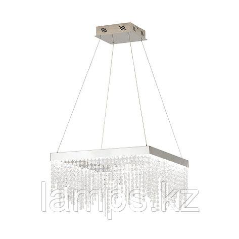 Cветильник подвесной ANTELAO CHROM KRISTALL LED-HL 500x500, фото 2