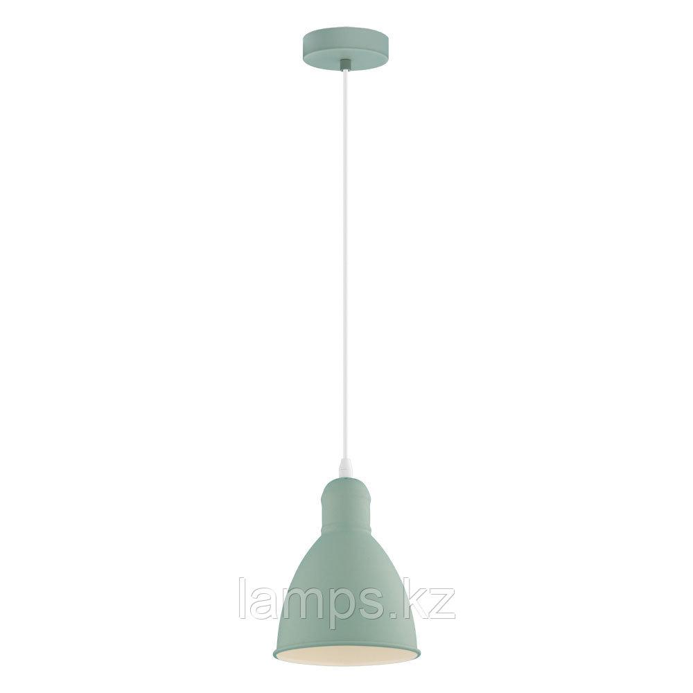 Светильник подвесной PRIDDY-P, сталь,HL  1 E27 HELLGRÜN