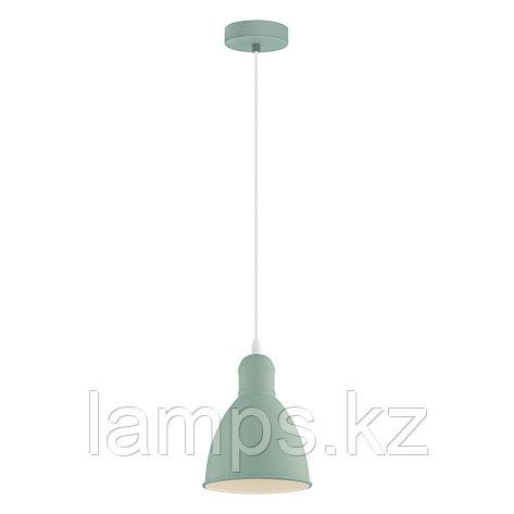 Светильник подвесной PRIDDY-P, сталь,HL  1 E27 HELLGRÜN, фото 2