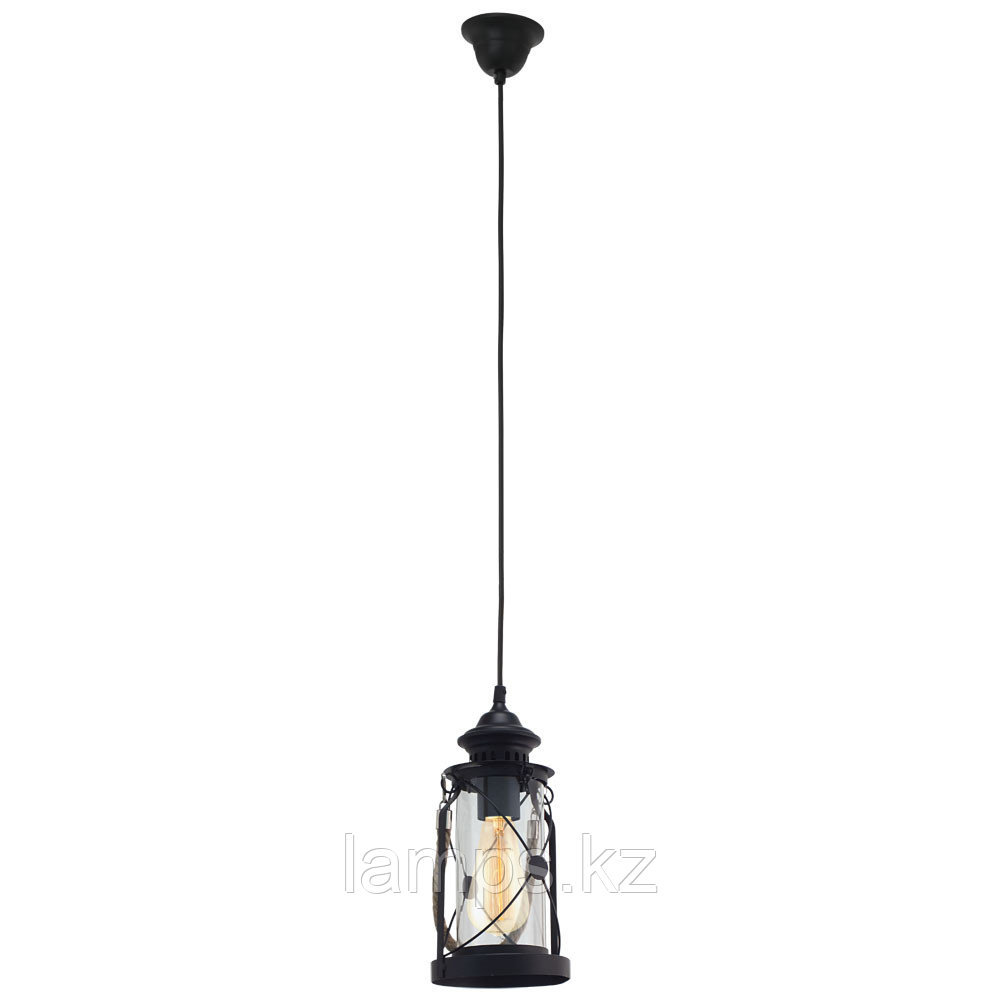 Светильник подвесной  HL  1 E27 Schwarz  Bradford