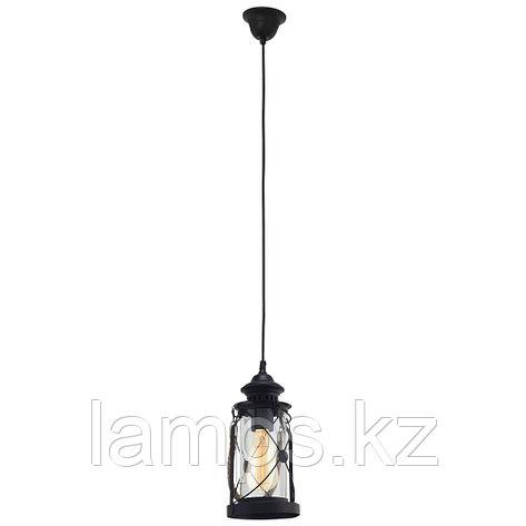 Светильник подвесной  HL  1 E27 Schwarz  Bradford, фото 2