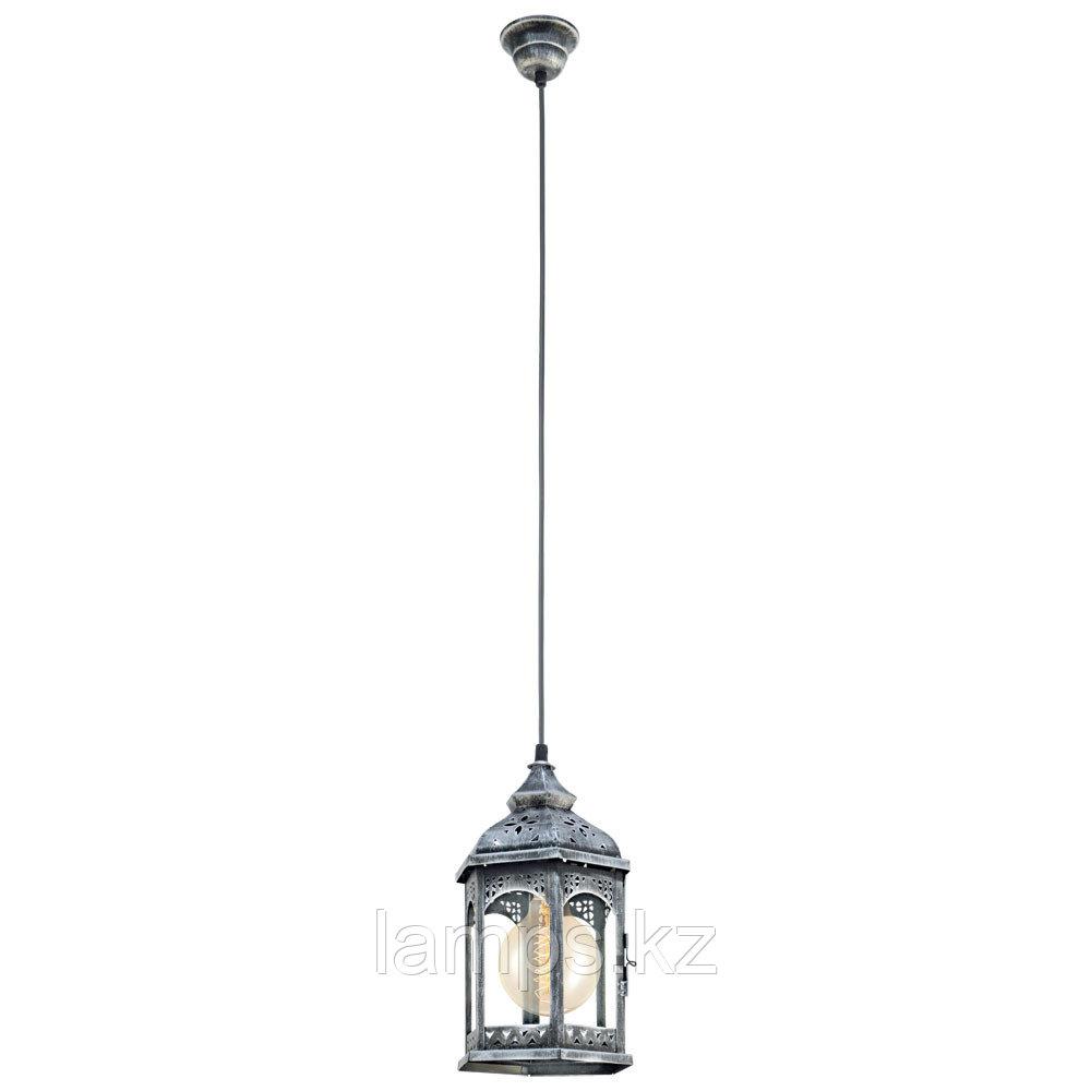 Светильник подвесной  Redford 1 HL  1 E27  1*60W  silber-antik