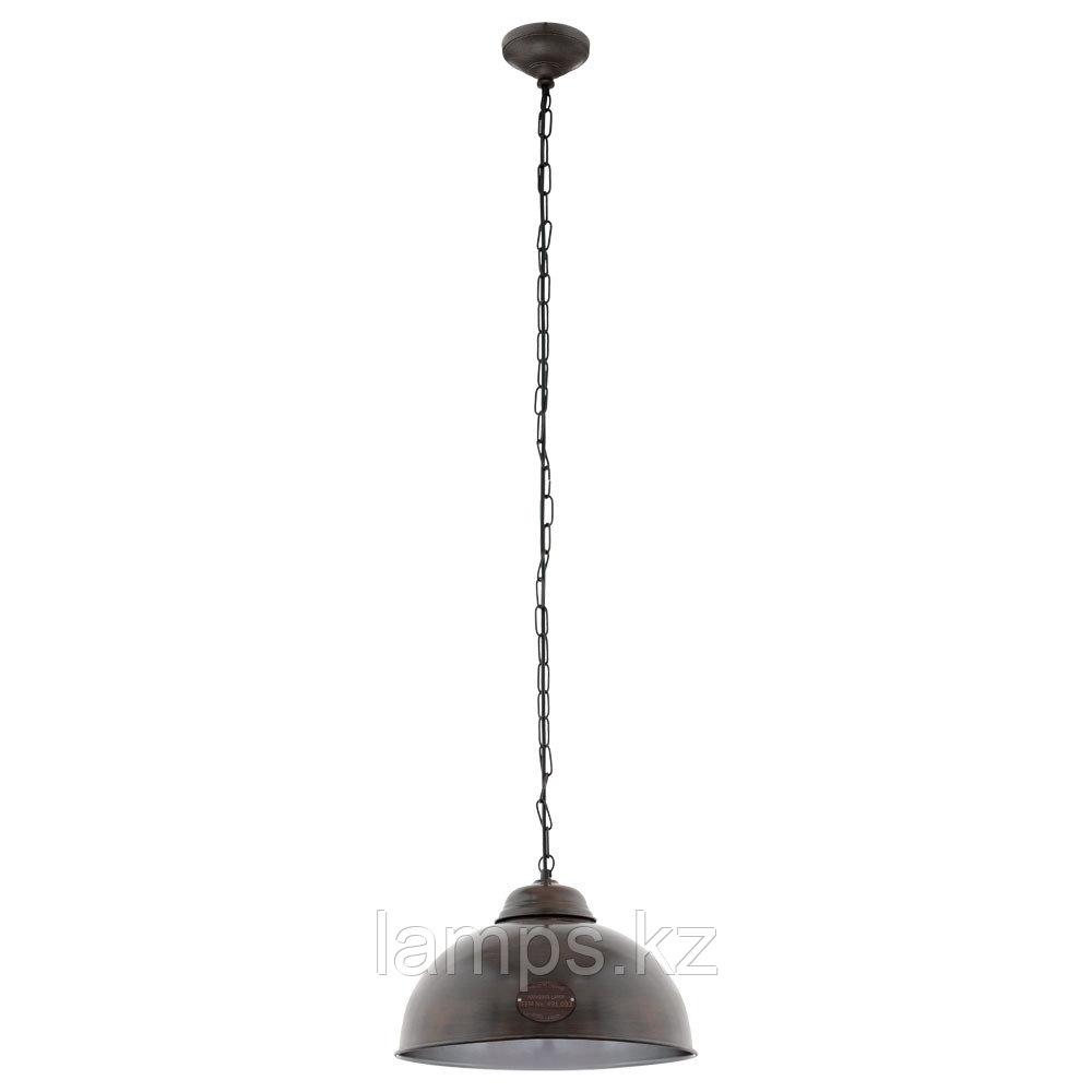 Светильник подвесной TRURO 2   E27  1*60W