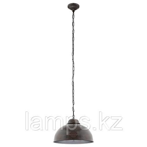 Светильник подвесной TRURO 2   E27  1*60W, фото 2