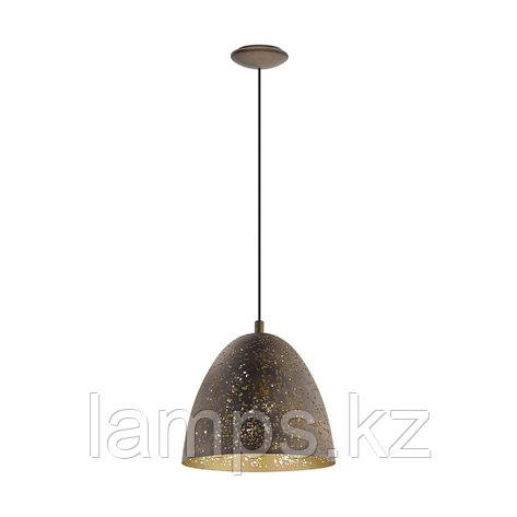 Светильник подвесной 'SAFI' BRAUN  GOLD    сталь  HL  1 Ø275  , фото 2