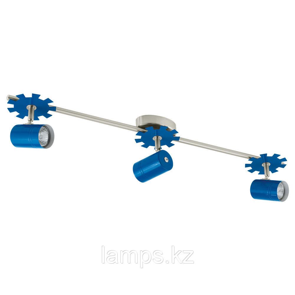 Светильник потолочный/GU10, 3x50W/ LEONIE