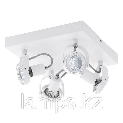 Светильник настенно-потолочный NOVORIO 1 GU10-LED/4*5W, фото 2
