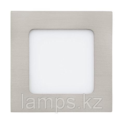 Светильник встраиваемый FUEVA1, металл, пластик, LED-EINBAUSP.120X120 NICKEL 4000K, фото 2