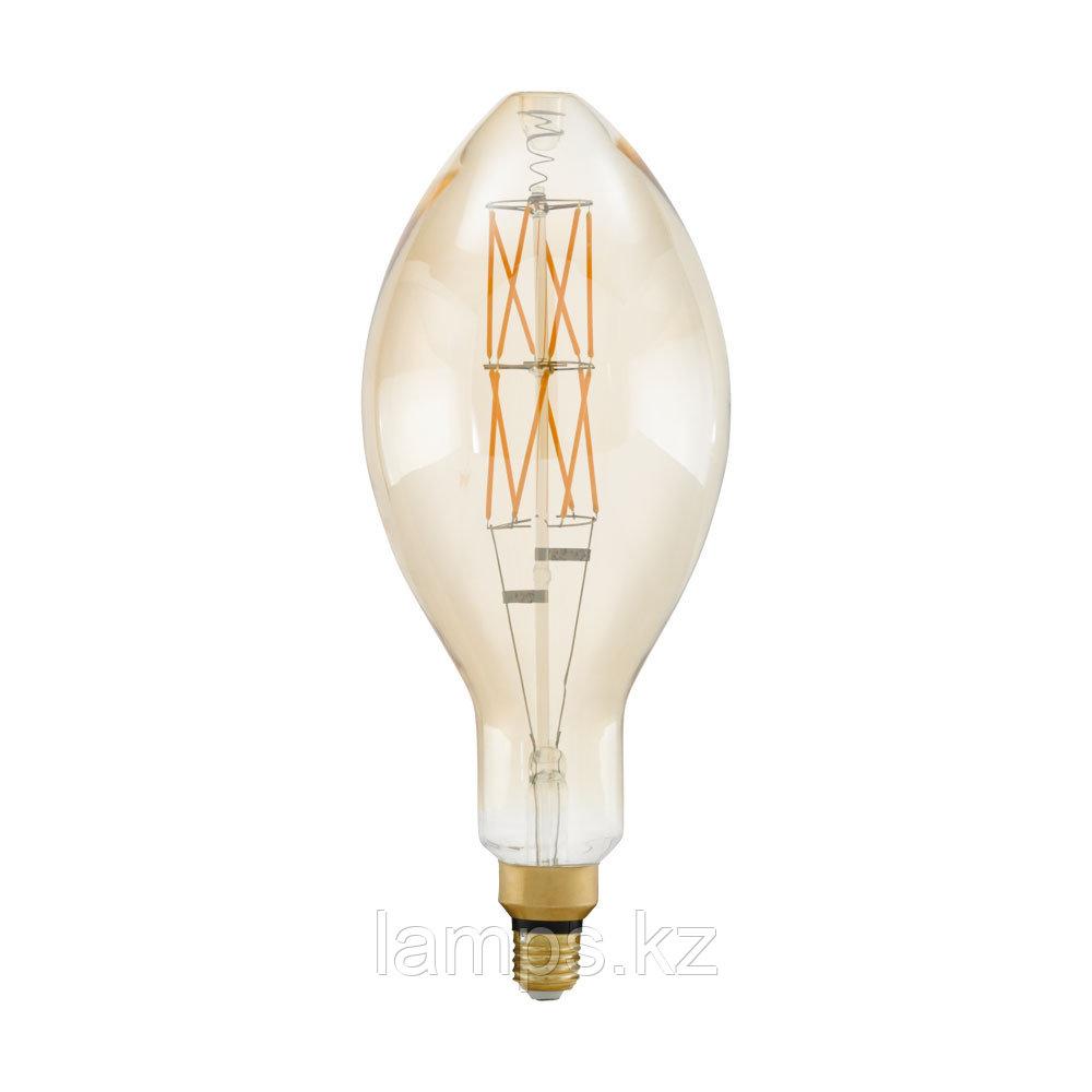 Лампа светодиодная LM-E27-LED E140 8W AMBER 2100K
