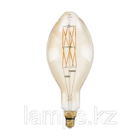 Лампа светодиодная LM-E27-LED E140 8W AMBER 2100K, фото 2