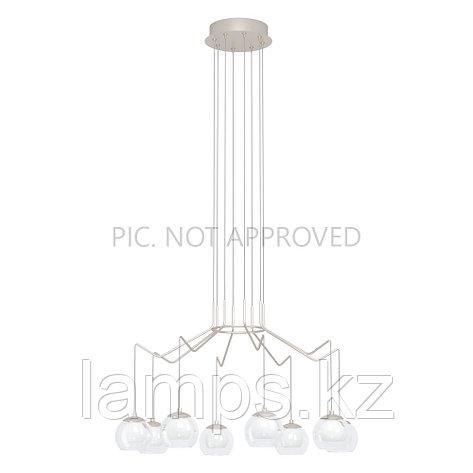 Светильник подвесной ROVIGANA, сталь, стекло, фото 2
